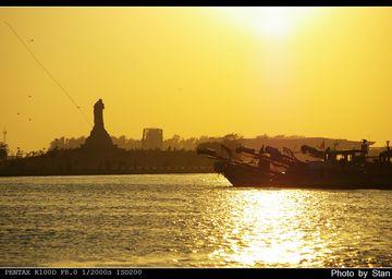 Anping Harbor Sunset