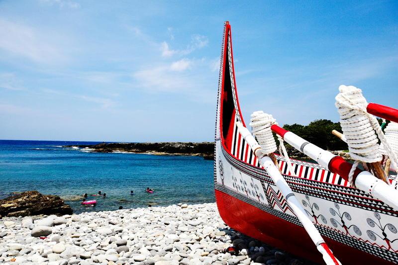 Tradional Tao Fishing Boat