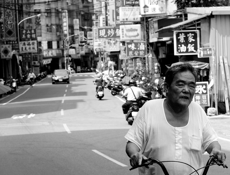 Huaxing Street Cyclist