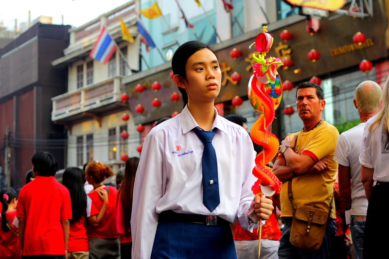 Parade at CNY