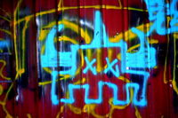 Click Here to view Banchio Graffiti in Full Size