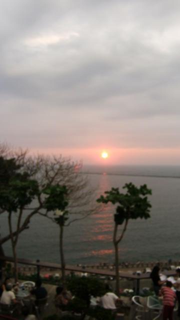 Sun set Kaoshiung