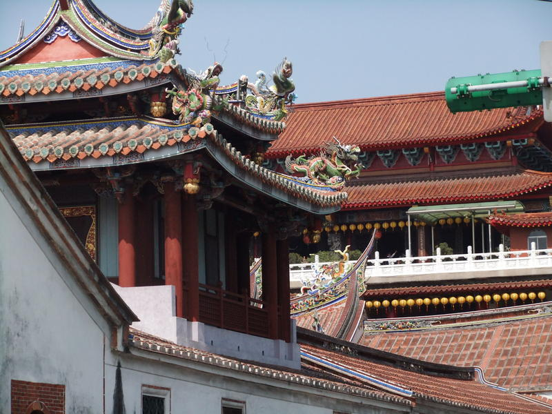 The Roofline of the Confucius Temple