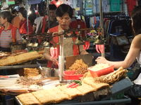 Click Here to view Dried Barbecued Squid Vendor in Full Size