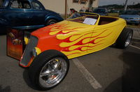 3D Flames on Hot Rod