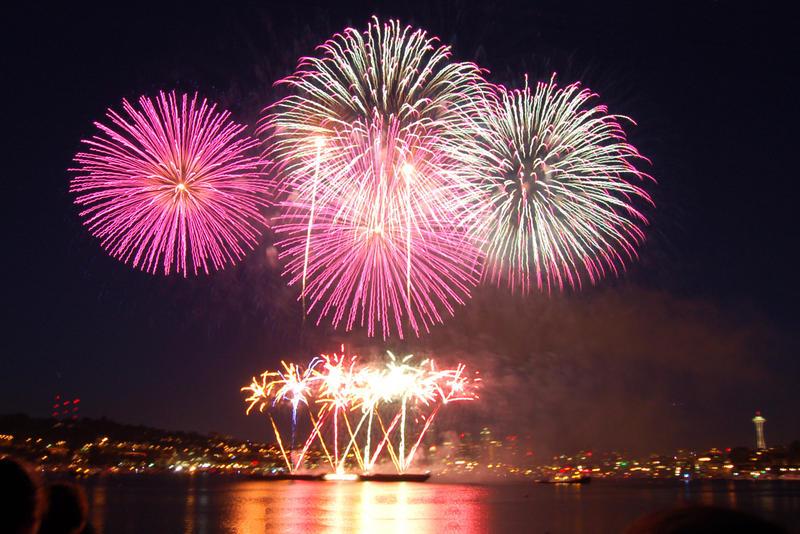 Pink Ball Fireworks