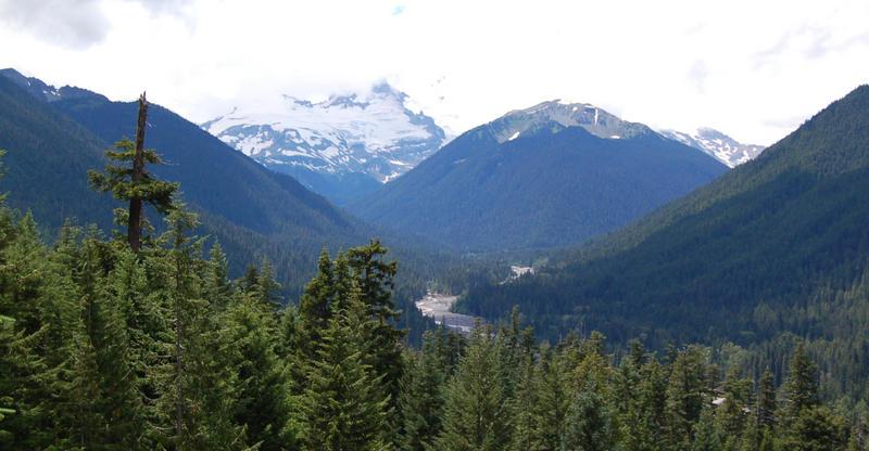 Mount Rainier in Clouds
