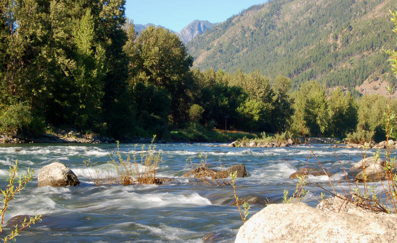 Wenatchee River near Leavenworth Two