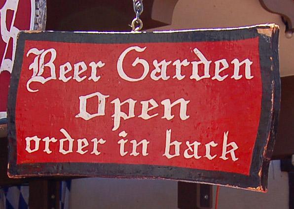 Beer Garden Open