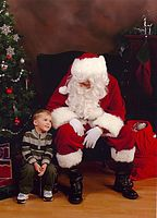 Click Here to view gavin & santa in Full Size