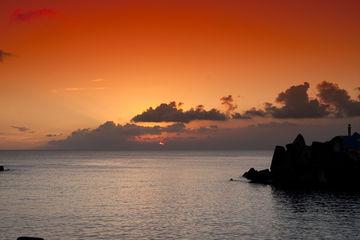 Sunset at Shan Hai Harbour