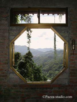 The mountains around Taipei