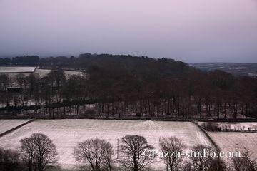 Winter hills of Derbyshire