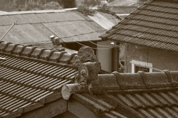 Roof tops in Taiwan