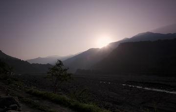 Sunrise in Koashung