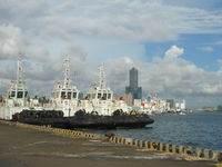 Click Here to view Kaohsiung harbour in Full Size