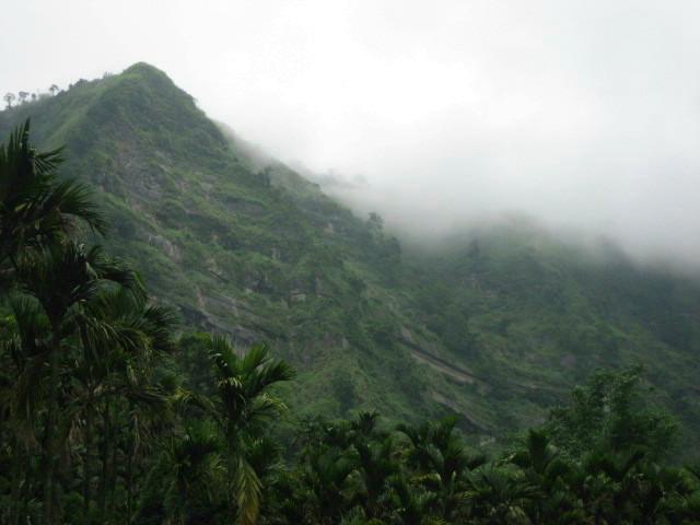 Misty Mountain in Zhong Liao
