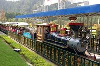 Theme Park Train