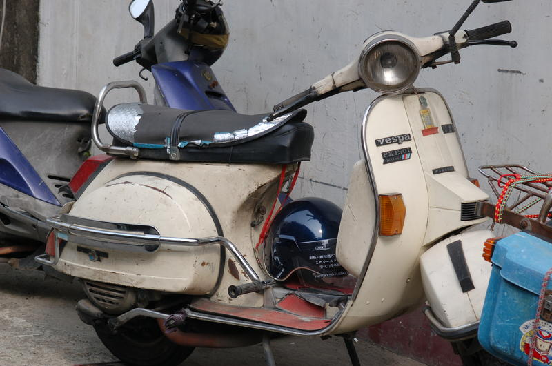 Old Vespa Scooter
