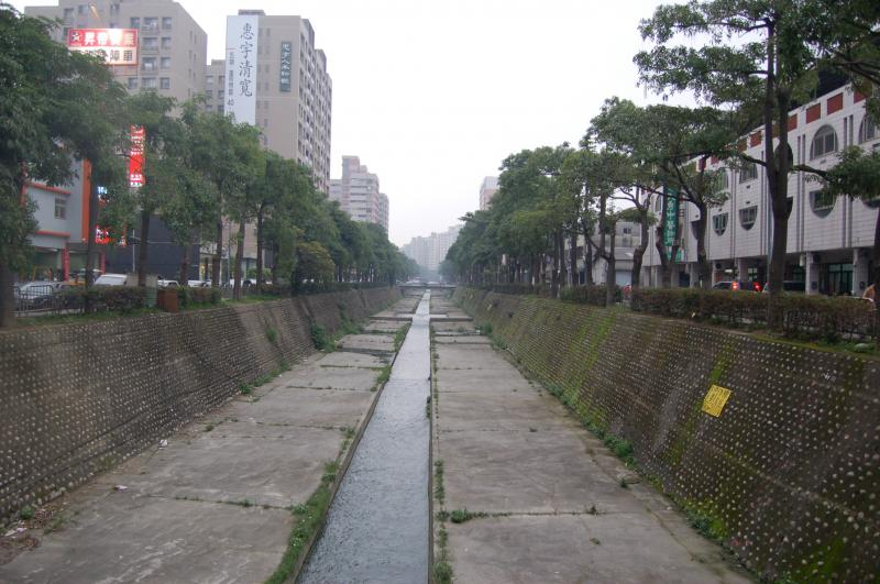 Lee-Ming-Go river in Taichung