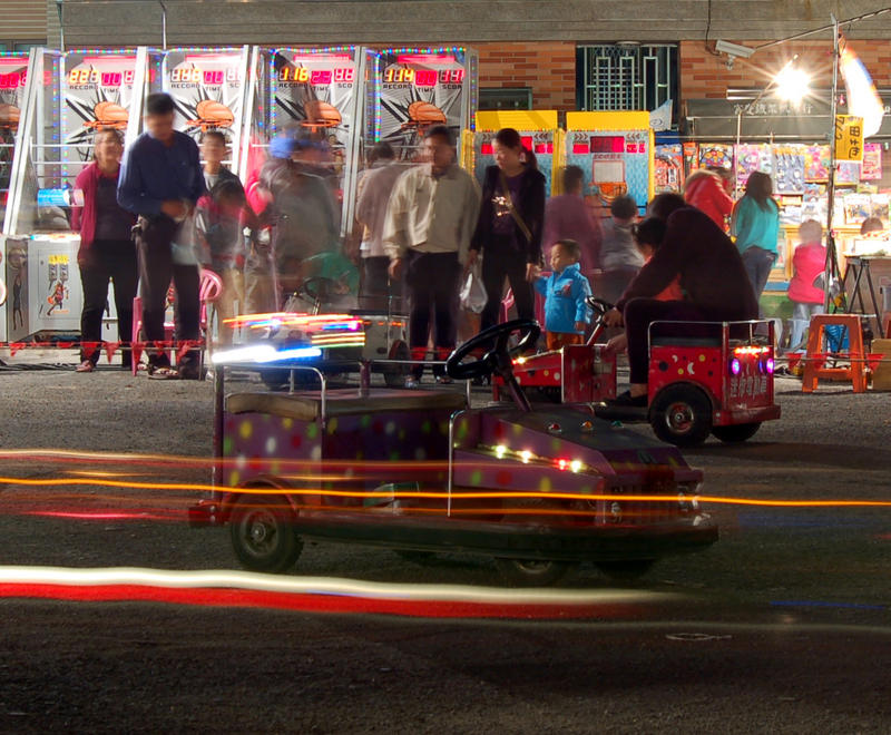 Night Market Car