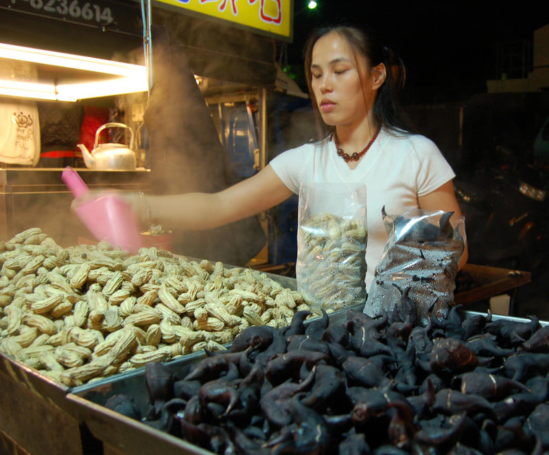 Night Market Peanuts Ling Jiao