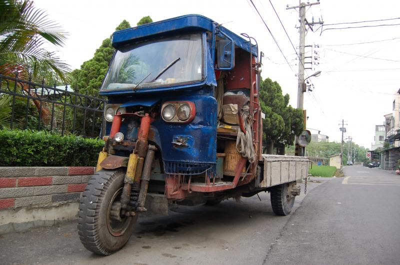 Three Wheeled Truck
