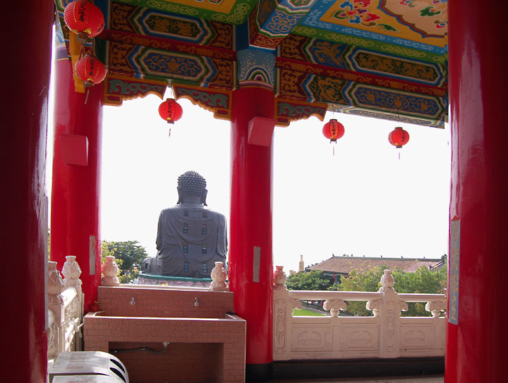 ChangHua Budha Back