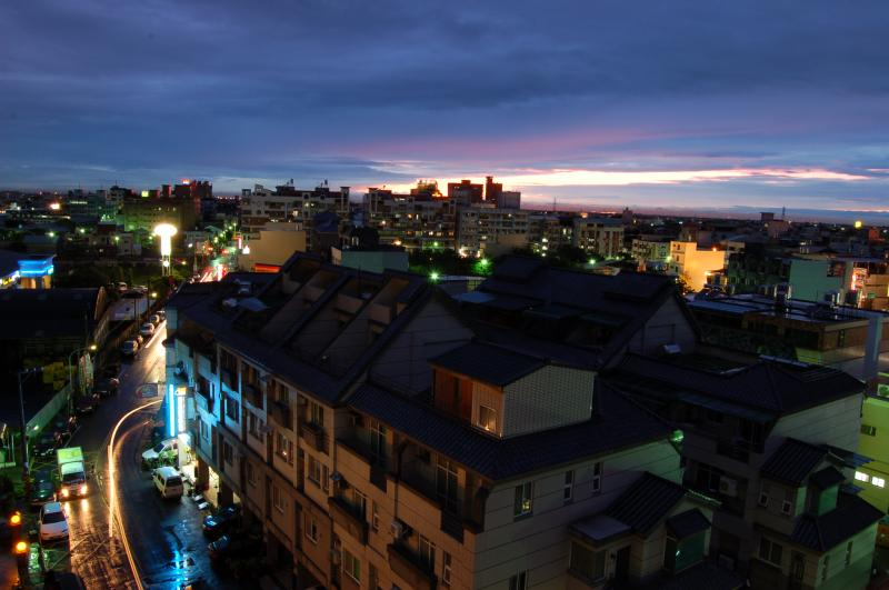 Evening in Yuanlin, Taiwan