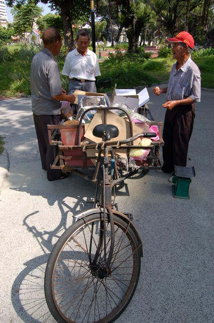 Bicycle Fruit Seller