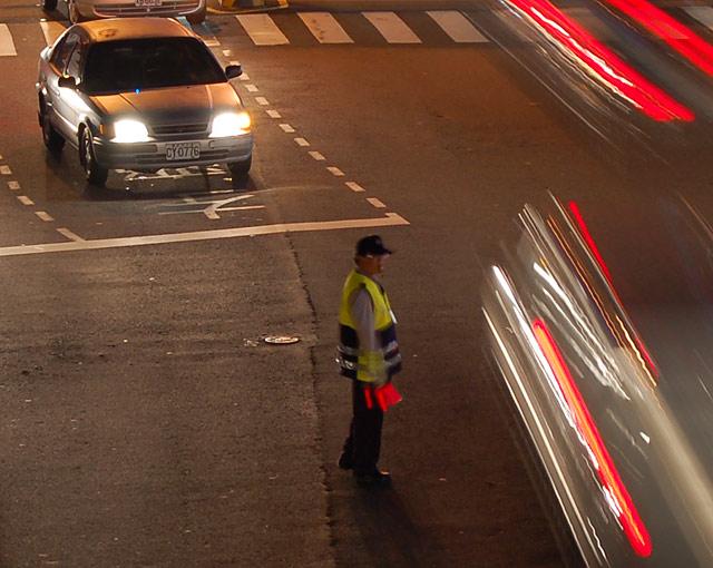 Taiwan Traffic Cop
