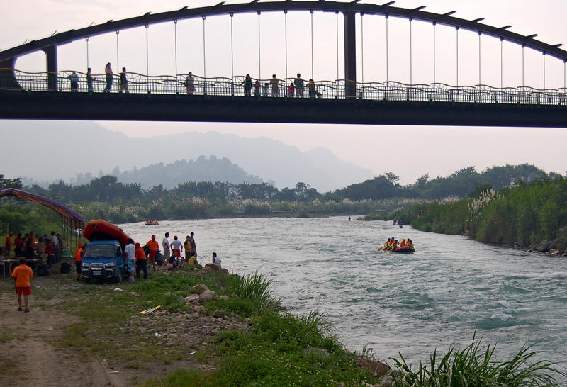 River Rafting in Taiwan