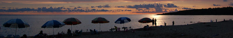 Umbrellas at Beach copy Crop2