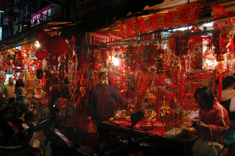 Chinese New Year Two Shops