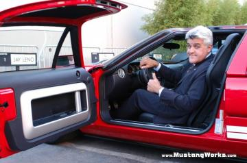 Jay Leno gives the Thumbs up