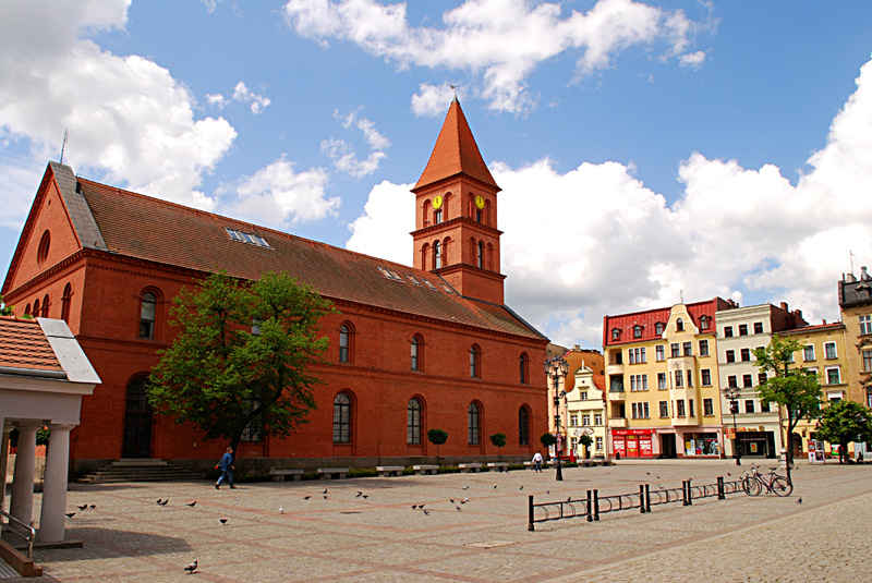 New market square of Torun
