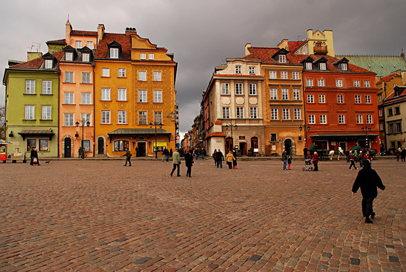 Castle square of Warsaw