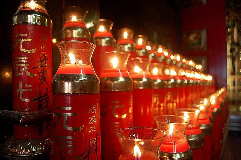 Each Candle carries a prayer