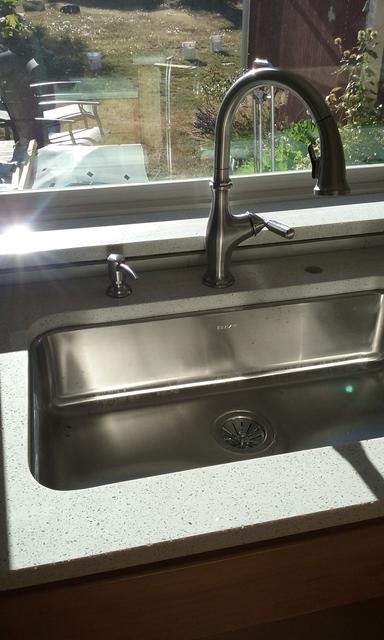 New Sink + Faucet