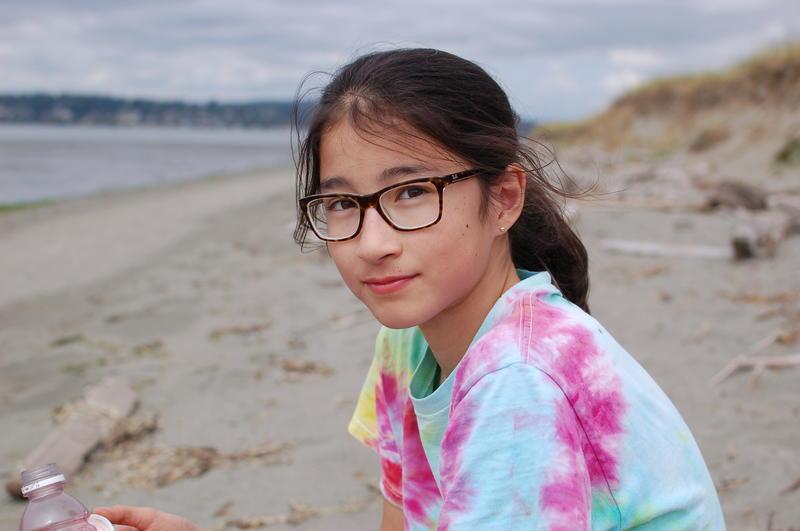 Waylisha on the Jetty Island