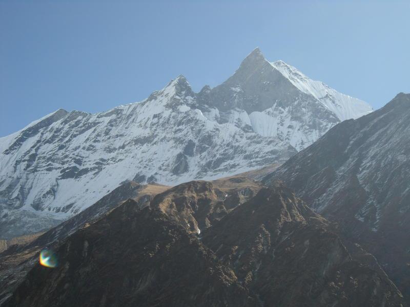 Annapurna Himal range