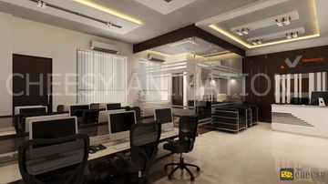 Interior Design & Rendering office