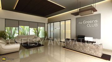 Interior Design & Rendering reception