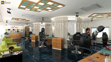 Interior Design & Rendering Salon
